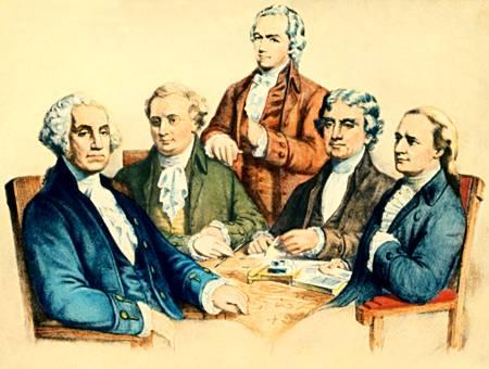 Cioccahistory Washington S Cabinet 1789 6